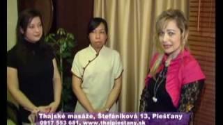 preview picture of video 'Tradičná thajská masáž, Thai Piešťany'