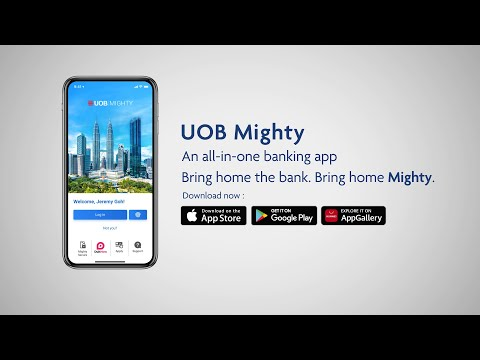 How to set up UOB Mighty