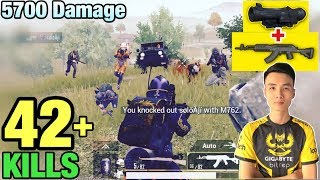 KING OF M762 | 42 KILLS SOLO VS SQUAD | NEW WORLD RECORD IN PUBG MOBILE