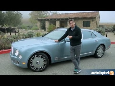 2013 Bentley Mulsanne Mulliner Test Drive & High-End Luxury Car Video Review