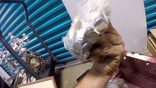 Epic Storage Unit Haul!!!! Coins, Paintings, Antiques