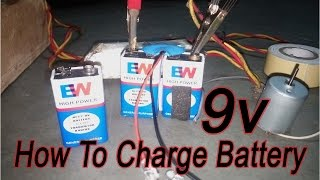 How to Charge 9V Battery In Home For (A.k Digital's) कैसे बैटरी चार्ज