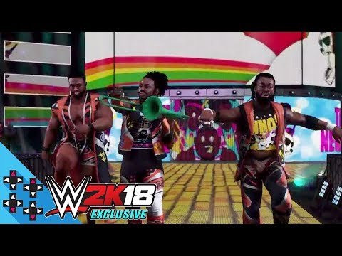 WWE 2K18 Exclusive – The New Day bring the Power of Positivity to the ring