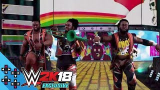 WWE 2K18 Entrance Video - The New Day bring the Power of Positivity to the ring!
