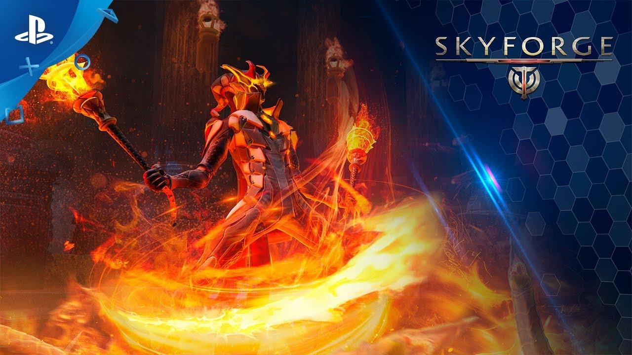 Mettete a ferro e fuoco il mondo con l'aggiornamento di Skyforge e la nuova classe Firestarter, in arrivo su PS4 a settembre