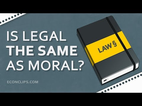 Is Legal The Same As Moral And Just? | What Good Law Should Look Like?
