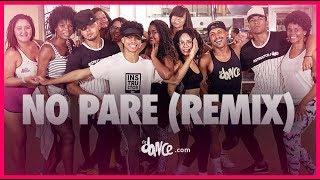 DJ No Pare (Remix)   Justin Quiles, Natti Natasha, Farruko, Zion, Dalex, Lenny Tavárez | FitDance TV
