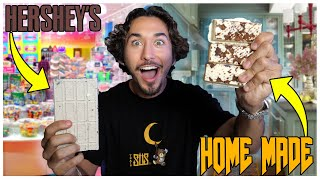 I Followed Candy Recipes AT HOME... (Taste Test)