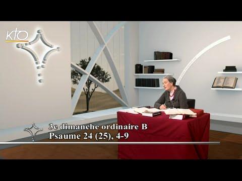 3e dimanche ordinaire B - Psaume