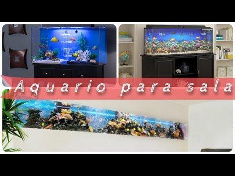 20 modelos de aquario para sala