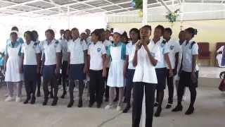 preview picture of video 'Gospel de l'Universite Notre-Dame d'Haiti- Hinche'