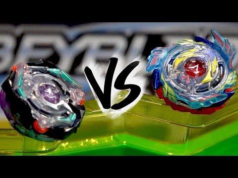 BATTLE: Genesis Valtryek V3 VS Satomb S3 - Beyblade Burst Evolution!