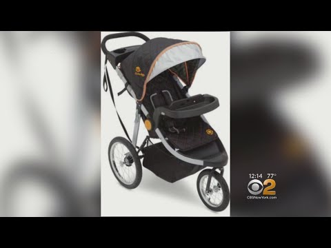 Jeep Brand 3-Wheel Baby Strollers Recalls