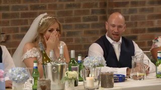 Maid of Honour Raps her Speech to 'ICE ICE BABY' at her sister wedding! AMAZING!
