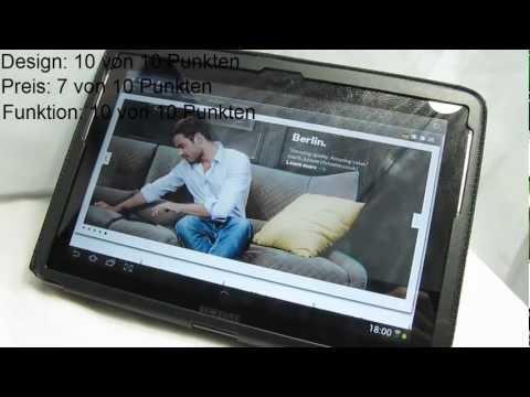 """KAVAJ Galaxy Tab 2 10.1 Hülle """"Berlin"""" (Gadget-Test)"""