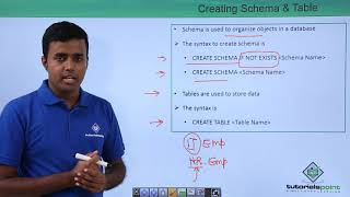 Creating Schema & Table