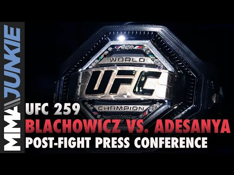 UFC 259 post-fight press conference