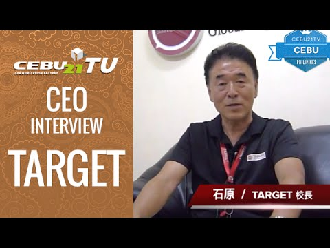 セブ島 TARGETの校長インタビュー by フィリピン留学 CEBU21