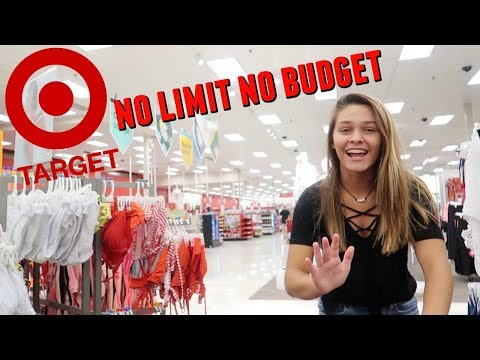 THE TARGET NO LIMIT NO BUDGET SHOPPING CHALLENGE!