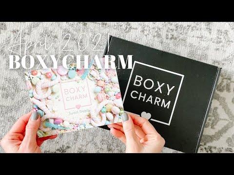 BOXYCHARM Unboxing April 2021