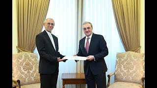 Foreign Minister Zohrab Mnatsakanyan received the newly appointed Ambassador of Iran Abbas Badakhshan Zohouri