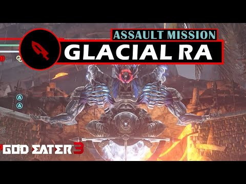"""Operation Ice Blight"" Assault Mission [Long Blade] - God Eater 3"