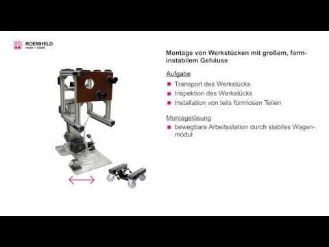 modulog - das Modulsystem für die Montage- und Handhabungstechnik