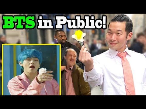 "BTS ""Boy With Luv"" Feat Halsey - BTS Dance In Public!! - QPark"