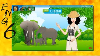 สื่อการเรียนการสอน Endangered Elephant  ป.6 ภาษาอังกฤษ