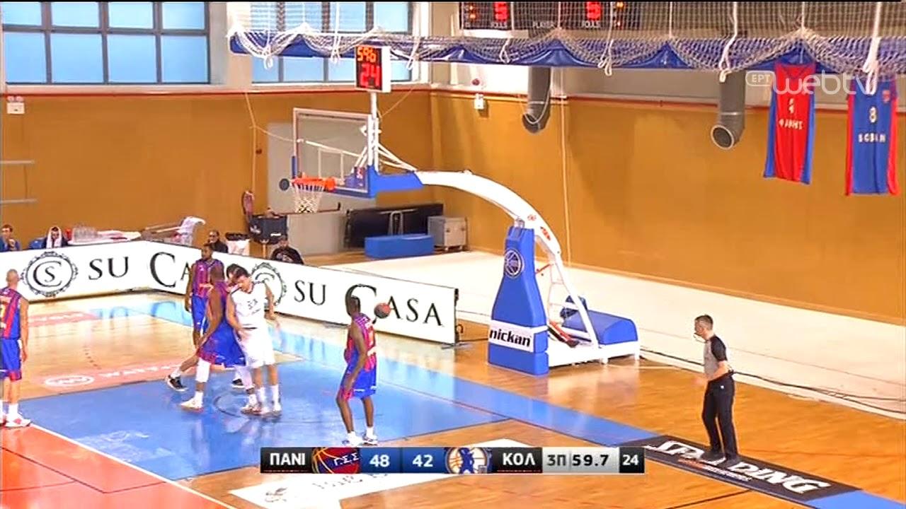 Basket League 2019-2020: ΠΑΝΙΩΝΙΟΣ – ΚΟΛΟΣΣΟΣ | HIGHLIGHTS | 04/01/2020 | ΕΡΤ