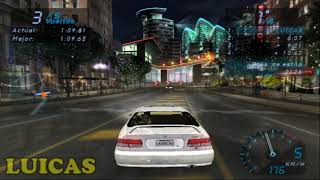 NEED FOR SPEED UNDERGROUND PS2 TOYOTA CELICA OLYMPIC SQUARE GAMEPLAY