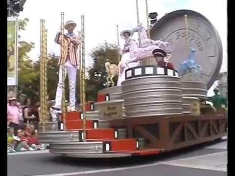 Disney Cinema Parade 2007, Walt Disney Studios Park, Disneyland Paris