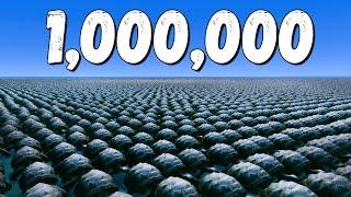 1000000 ЧЕРЕПАХ НА КАРТЕ СМЕРТЬ ЛЮБОМУ ПК! -  Ultimate Epic Battle Simulator