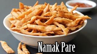 Namak Pare Recipe   Fried Savory Flour Crispies Recipe   How to Make Namak Pare   Nehas Cookhouse