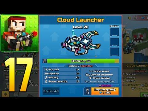 Pixel Gun 3D - Gameplay Walkthrough Part 17 - Cloud Launcher