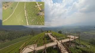 Wayang Windu Skypark   Pengalengan Jawa Barat   FPV Drone view