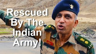 Survived a Landslide Thanks to Indian Army!