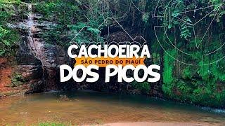 Cachoeira dos Picos em São Pedro do Piauí