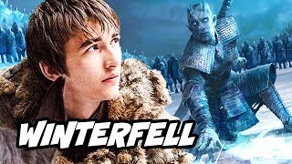 Game Of Thrones Season 8 Winterfell Dragon Secrets and Arya Stark Interview Breakdown