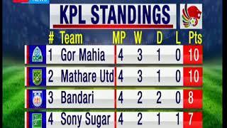 Scoreline - 3rd March 2018: KPL Fixtures - 3rd March 2018: Kenya Premier League actions plate