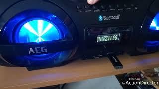 AEG SR4359BT RADIO SOUNDBOX CD /MP3 mit BLUETOOTH!!!!!!!