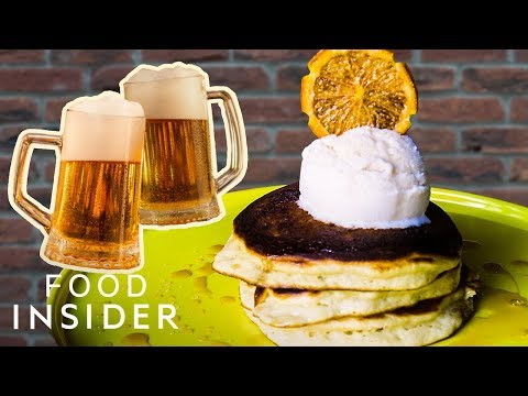 Start Your Day with Beer Pancakes