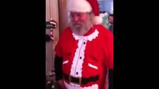 Santas gonna kick your ass