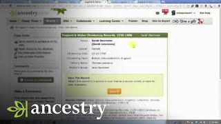 Understanding Baptismal Records | Ancestry