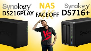 Synology DS216play DiskStation NAS 2-Bay 12TB (2 X 6TB WD Red)
