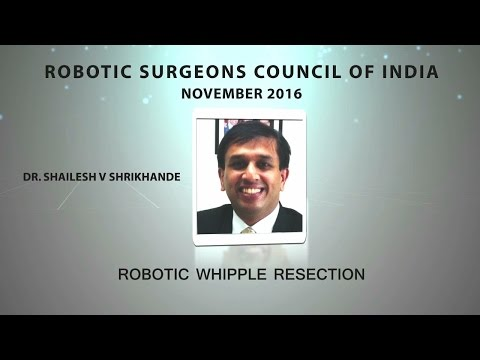 Robotic Assisted Pylorus Preserving Pancreaticoduodenectomy