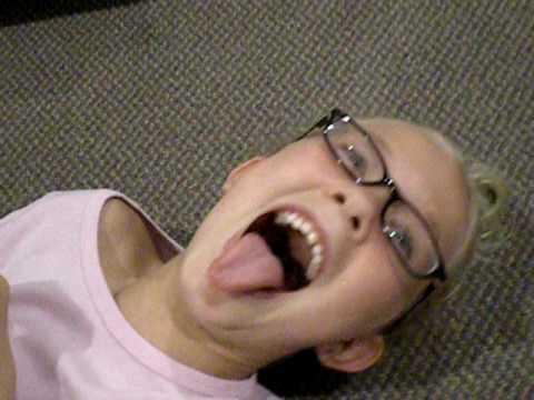 Natalie being tickled!