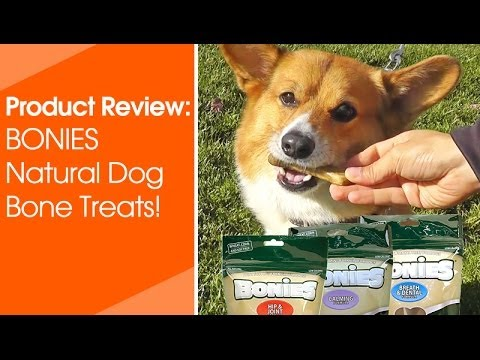 "BONIES"" Natural Dental Health BULK BOX MEDIUM (90 Bones) Video"
