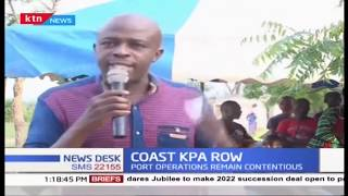 COAST KPA ROW: Leaders clash over new KPA management bill