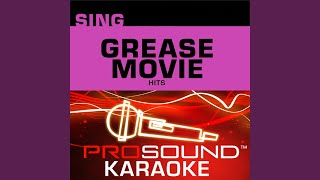 Grease Megamix (Karaoke Instrumental Track) (In the Style of Grease)